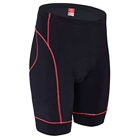 ALLY Men's 3D Professional Moulded Anti-Bac Padding Cycling Shorts with High Air Permeability- M/L/XL/XXL/XXXL