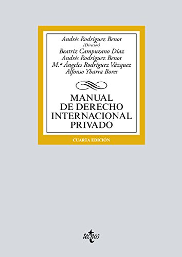 Manual de Derecho Internacional privado (Derecho - Biblioteca Universitaria De Editorial Tecnos)