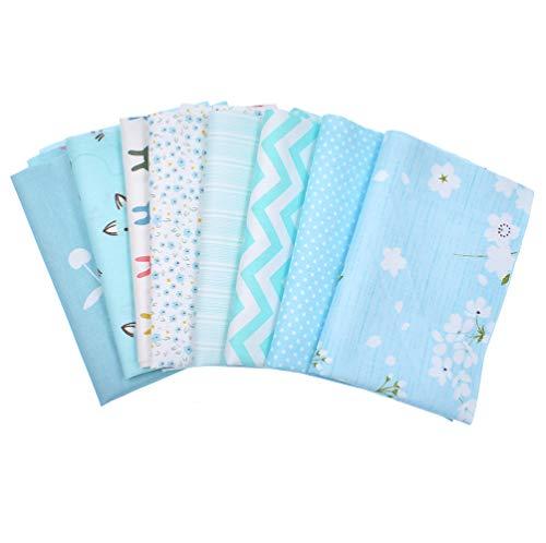 Kunst Handtasche (RAYLINE-DO RayLineDo Stoff-Set, 8 x 24 cm, Verschiedene Muster und Farben, Baumwolle, Patchwork-Stoff, Quadrate für Quilten, Scrapbooking, Nähen, Kunst, Handtaschen, Projekt-Stoff)
