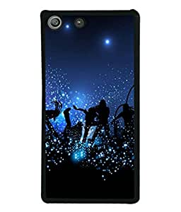 PrintVisa Designer Back Case Cover for Sony Xperia M5 Dual (young people enjoying musical party)