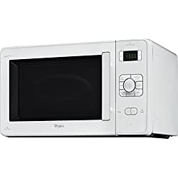 Whirlpool JC 218WH à 1000W Blanc-Micro-onde (dessus, 1000W, boutons, rotatif, blanc, 1000W, 32cm