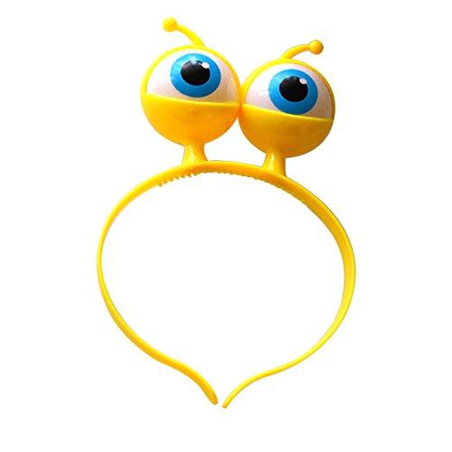 Parties Geburtstag für Kinder und Halloween 1 Ornamente Boppers Yellow Head ()