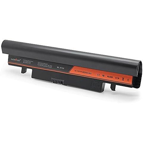 LENOGE batería del ordenador portátil La carga rápida para Samsung N143 N145 Plus N148 N150 N260 NP-N143 NP-N148 NP-N250 NP-N150 NP-N260 Recambio para las baterías originales AA-PB2VC6B AA-PB2VC6W AA-PL2VC6B 18 Meses de