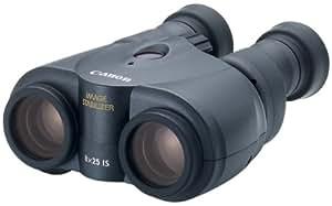 Canon 8X 25IS–Jumelles (CR123A, 119,7x 132,7x 61,2mm)