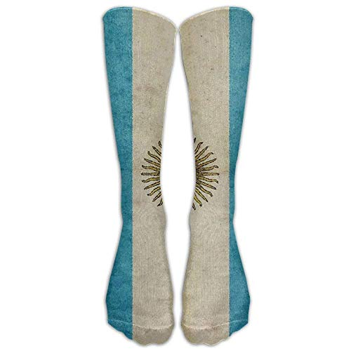 Brown White Horse HEAD Kniestrümpfe für Damen und Herren - Best Medical, Nursing, Travel & Flight Socks - Running & Fitness 50cm