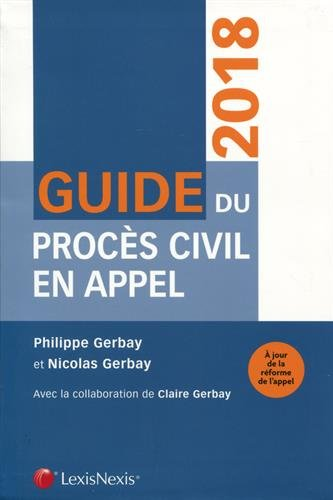Guide du procs civil en appel