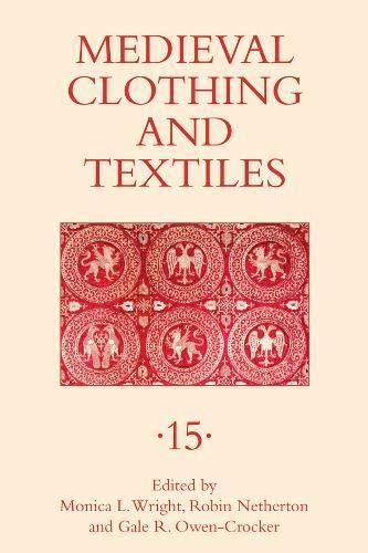 Medieval Clothing and Textiles 15 (Robin Kostüm Geschichte)
