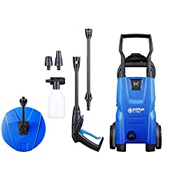 Nilfisk C 110 bar Pressure Washer Patio Cleaner, 440 L/H water flow, Blue