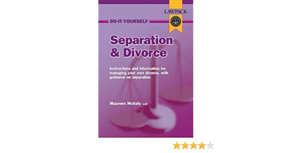 Do it yourself separation and divorce law pack guide amazon do it yourself separation and divorce law pack guide amazon maureen mullally 9781904053323 books solutioingenieria Gallery