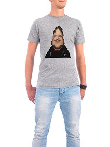"""Design T-Shirt Männer Continental Cotton """"Guillermo Del Toro"""" - stylisches Shirt Film Menschen von Rob Snow Grau"""