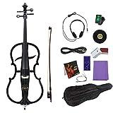 Bnineteenteam Kit de Violoncelle électrique, qualité Maple Accessoire électroacoustique pour Violoncelle électrique(Noir)