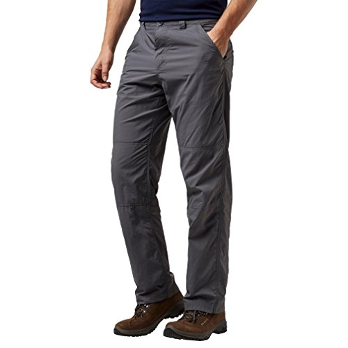 Craghoppers Men's Nosi Trousers, Grey, 32in