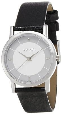 Sonata Analog Multicolor Dial Men's Watch -NJ7987SL01W
