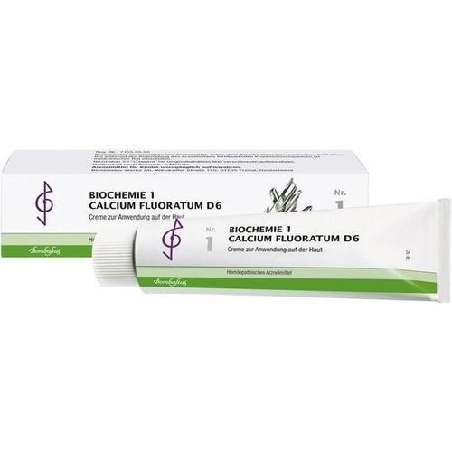Biochemie 1 Calcium Fluoratum D 6 Creme 100ml