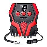 Audew Compressore Aria Portatile Auto 12V 150PSI Gonfiatore con Schermo LCD per Pneumatici Auto/Bici/Moto/Altri Gonfiabili