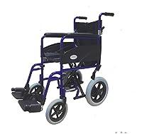 Simplelife Lightweight Folding Aluminium Transit Wheelchair
