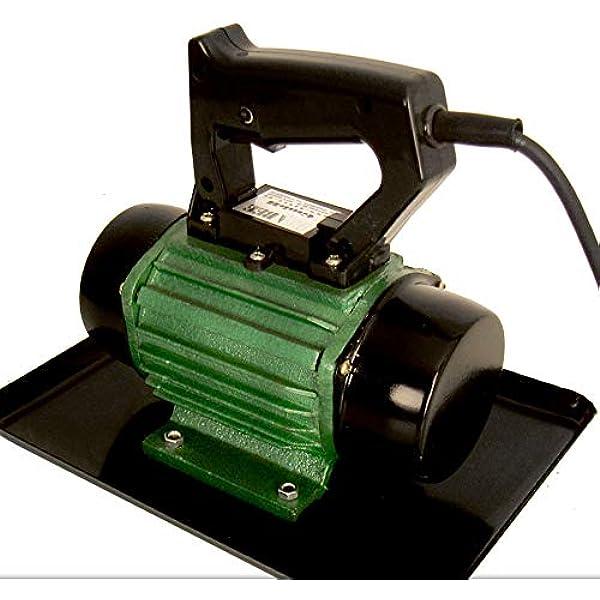 Mini Rüttelplatte Verdichter Beton Elektro Rüttlermotor Vibrationsmotor Handlich