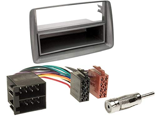 Pioneer-DEH-S110UB-1-DIN-Autoradio-mit-CD-USB-AUX-fr-FIAT-Panda-169-2003-2012-grau