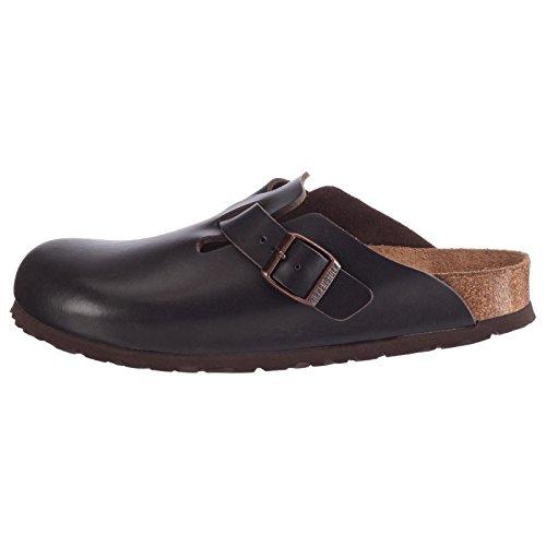 Birkenstock Boston Brown Mens Sandals Braun