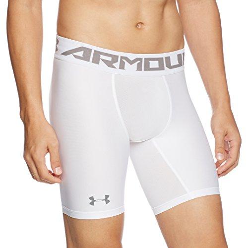 Under Armour Hg Armour 2 Comp Shorts Herren Kurze Hose, White, L, 1289566 (Weiß Kurze Zwickel)
