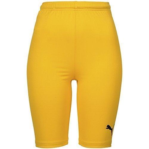 uomo PUMA Pantaloni Corti Pantaloni da ciclismo 700268-07 - giallo, XL, poliestere