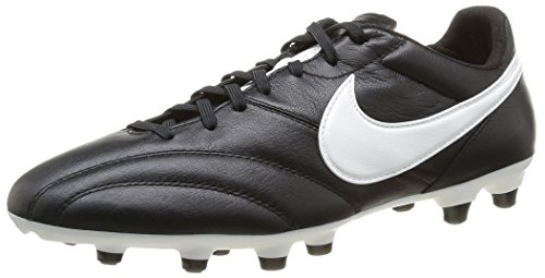 NIKE The Premier - Scarpe da calcio Uomo, Nero (Black/summit White-orange Blaze), 41 EU