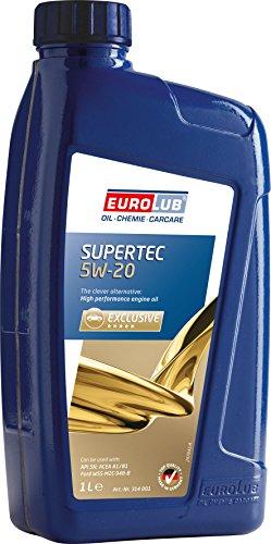 EUROLUB SUPERTEC SAE 5W-20 Motoröl, 1 Liter