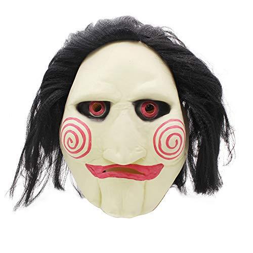 Ydq Halloween Kettensäge Schrecken Maske Umweltfreundliche Latex Material Horror Lustige Rollenspiel Kostüm Ball