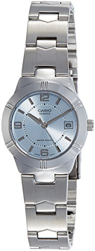 Casio (LTP-1241D-2ADF|A850) Enticer Blue Dial Women's Analog Watch image