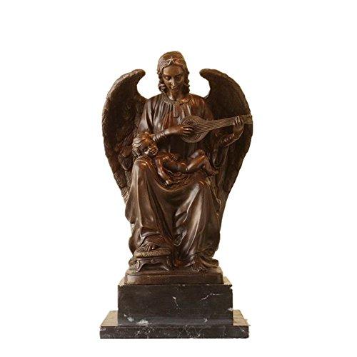 Toperkin Bible Figure Female Sculpture Virgin Mary Hand-made Home Deko Brass Statue TPE-916 Virgin Garten Statue