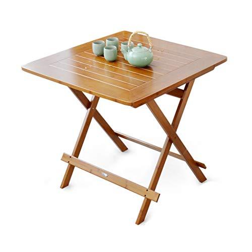 GY Klappbarer TV-Tabletttisch, Snack Trinken Beweglicher Schreibtisch, Quadratischer Esstisch, Sofa Beistelltisch, Zuhause Im Freien und Drinnen Kleiner Tisch, Tabletthalter,