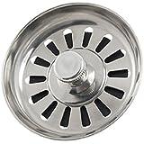 Sonline Colador Tapon de Metal para Lavabo Fregadero de Cocina