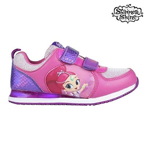 Cerdá Shimmer and Shine, Zapatillas para Niñas, Rosa Fucsia C08, 30 EU