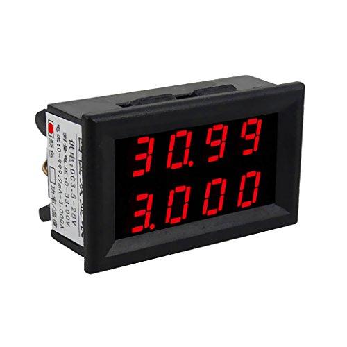 Droking LM2596 DC Buck R/égulateur de Tension Constante Tension /& Courant Convertisseur de Puissance R/églable 5-36V /à 1.25-32V Step-Down Module LED Conduire Module Voltm/ètre Amp/èrem/ètre Sortie USB