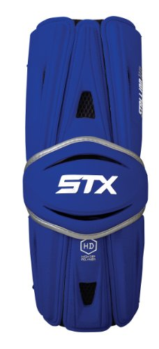 STX LACROSSE STALLION HD ARM GUARDS  ROYAL  MEDIUM BY STX