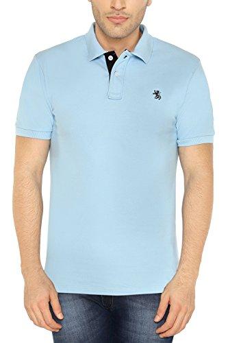 The-Cotton-Company-Mens-Luxury-Polo-T-Shirt-Sky-Blue