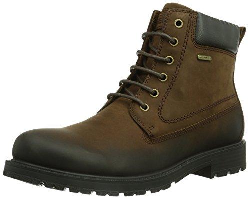 Geox U FIESOLE B ABX B, Herren Combat Boots, Braun (C6002LT BROWN), 43 EU