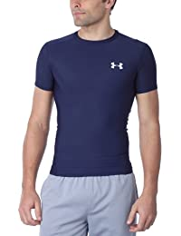Under Armour T-shirt HG COMPRESSION FULL - Camiseta de running para hombre, color azul, talla L