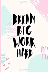 Dream Big Work Hard: 12-Week Keto Tracker & Intermittent Fasting Journal Pink & Mint (Best Weight Loss Trackers) Paperback