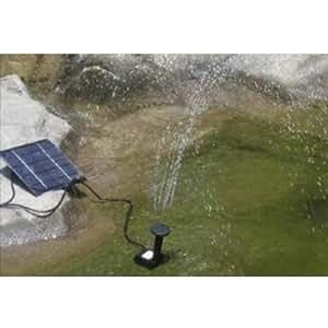 fontaine pompe a eau panneau solaire pour bassin jardin jardin. Black Bedroom Furniture Sets. Home Design Ideas