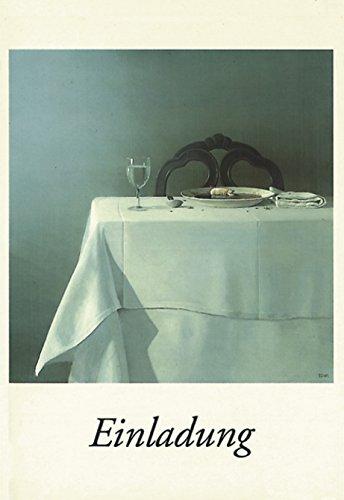 lag C6- (11,5 x 17 cm) • 7552 ''Einladung / Suppenschwein'' von Inkognito • Künstler: INKOGNITO © Michael Sowa • Satire • Einladungen ()