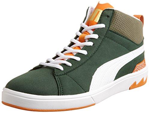 Puma 356967 Scarpa ginnica Uomo - verde-ARANCIONE