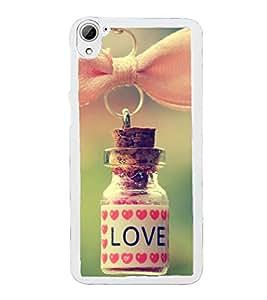 Love Dose 2D Hard Polycarbonate Designer Back Case Cover for HTC Desire 826 Dual Sim