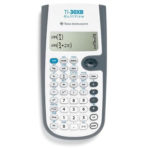 Texas Instruments TI 30X B Multiview Calculatrice scientifique