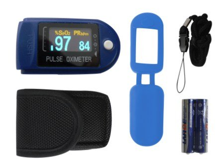 Pulsoximeter CMS 50D, Fingerpulsoximeter für Privatleute und Ärzte gleichermaßen