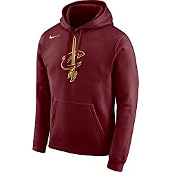 Nike NBA Cleveland Cavaliers Cavs 2017-2018 Oficial Lebron James Thomas Wade, Sudadera con Capucha