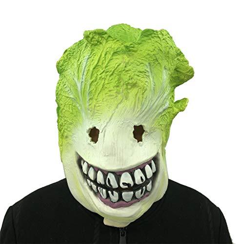 TianranRT Cosplay Kohl Monster Schmelzen Gesicht Latex Kostüm Sammlerstück Requisite Unheimlich Maske