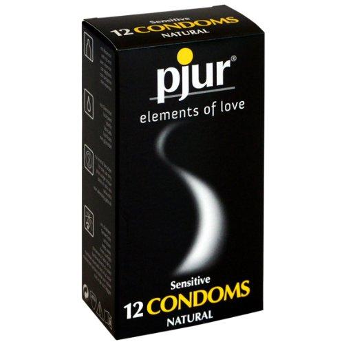 he22517Pjur-Sensibile Preservativi Profilattico 12+ con Kama Sutra Carte da gioco