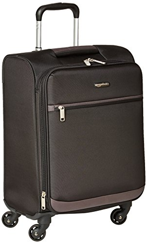 AmazonBasics - Roll-Reisetrolley, 53 cm, Schwarz