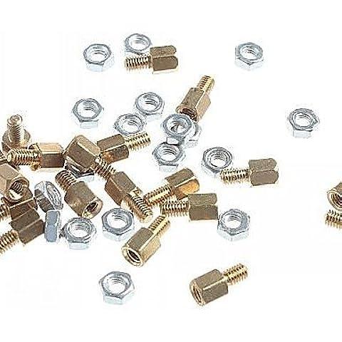DNGY*M3 x 5mm & 5 Kupfer DIY-Binding Post s (20 Stk.)
